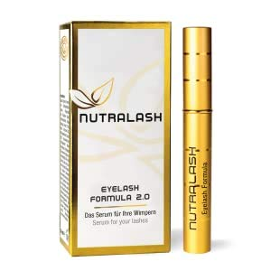 NUTRALASH Eyelash 2.0 - Aktives Wimpernserum made in Germany, 3ml