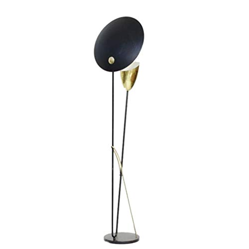 JYXJJKK Lámpara de pie para salón Lámpara de pie de lámpara del dormitorio de la atmósfera casera lámpara de pie moderna minimalista sala de exposiciones piso creativa