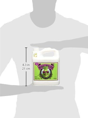 Advanced Nutrients GL525050-15 Big Bud Liquid Fertilizer, 4 Liter, Brown/A
