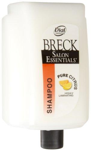 Dial 1476649 Eco-Smart Breck Amenity Pure Citrus Shampoo, 15oz Refill Cartridge (Pack of 6)