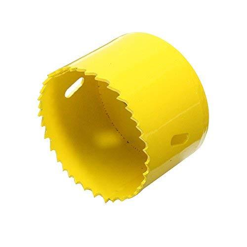 LUISONG FANMENGY - Broca para sierra perforadora (65 mm, M42, metal), para madera y plástico