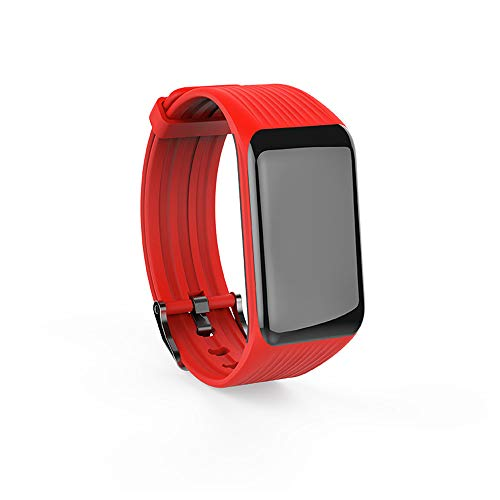CONRAL IP67 Waterproof Intelligent Mosquito Repellent Bracelet, Ultrasonic and Biological Waves Technology Insects Repeller Wristband, USB Rechargeable Battery, Non Toxic, for Kids and Adults,Red