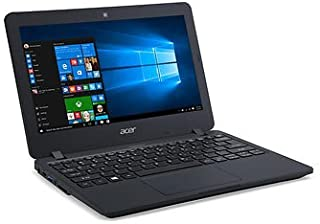 2017 Acer TMB117 11.6 TravelMate Notebook, Intel Celeron N3050 Processor, 2GB Memory, 32GB eMMC, Wifi, Bluetooth, Windows 10 Professional