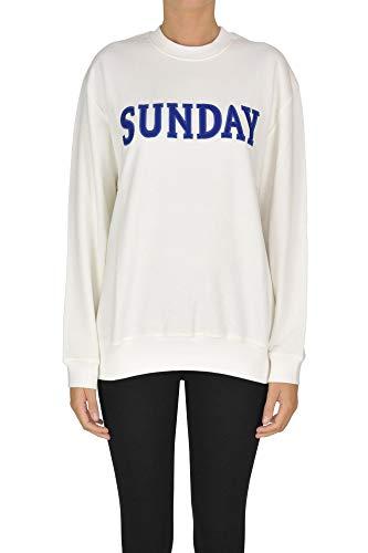 Alberta Ferretti Sunday Sweatshirt Woman White L INT.