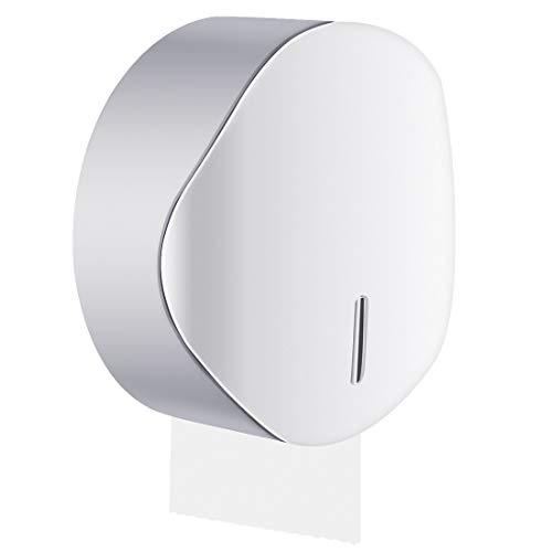 LinkIdea Papierhandtuchspender, Wandhalterung, Badezimmer, große Taschentücher, einlagig, große Rolle Papierhandtuchhalter, Aufbewahrungsbox für Toilette, Zuhause oder gewerblich