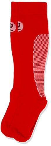 Medilast D320RB - Calcetines de Running Unisex, Color Rojo, Talla L