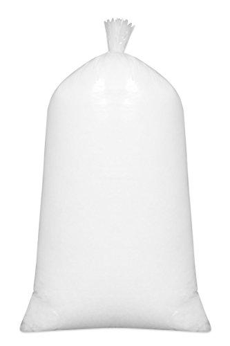 ZOLLNER Füllmaterial, 100prozent silikonisierte Polyesterhohlfasern, 1kg, weiß