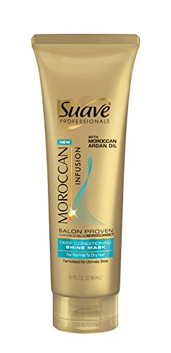 Suave Professionals Moroccan Infusion Deep Conditioning Shine Mask, 8 Ounce