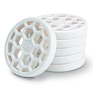 GoSports Golf Pure Strike Golf Training Discs 24 Pack - Eliminate Thin Shots, White