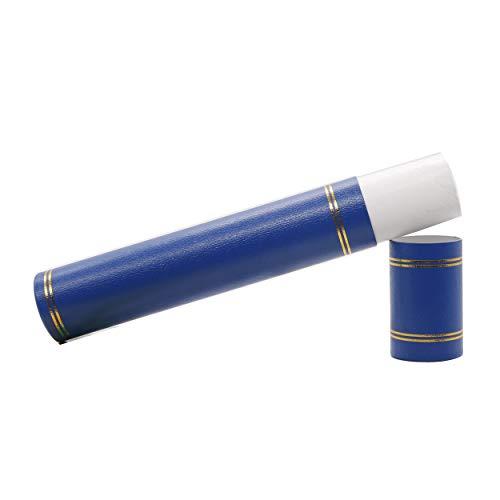 GraduationMall 賞状用筒 卒業証書用丸筒紙管 A4