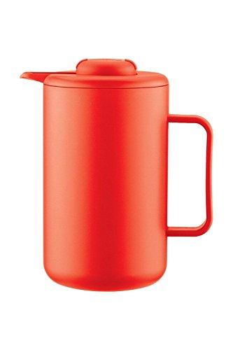 Bodum BISTRO thermoskan 1,0 L rood kunststof roestvrijstalen kern A11568-XYB-70-5