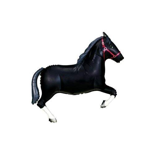 Black Horse Supershape Foil Balloon