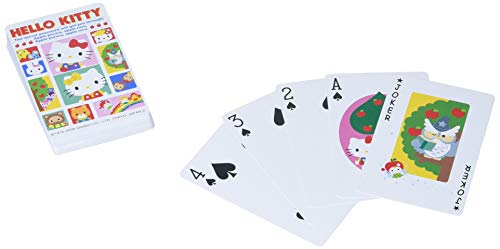 Hello Kitty plastic playing cards [Toy] (japan import)