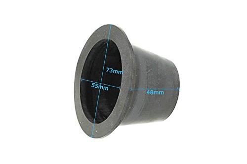 Afdekkap voor koplampen, van rubber, 55 mm, voor HidXenon en Full-LED-set.