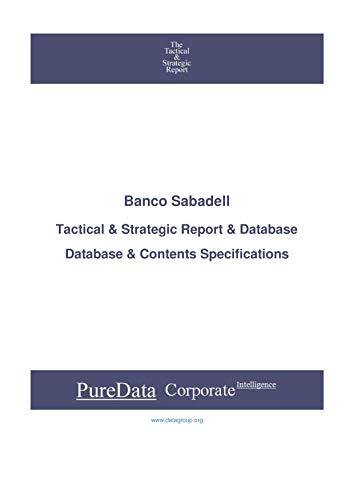 Banco Sabadell: Tactical & Strategic Database Specificat
