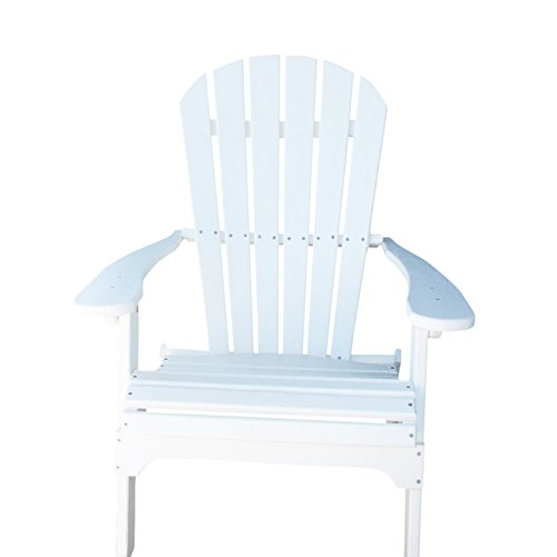 Phat Tommy Recycled Poly Resin Folding Adirondack Chair – Durable and Eco-Friendly Armchair. This...