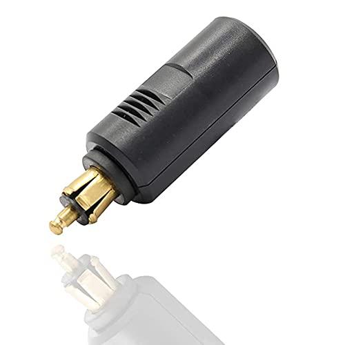 iSinofc Adaptador para Encendedor de Cigarrillos, Cable Adaptador Universal pequeño a Grande de 12-24 voltios, Enchufe Distribuidor de Encendedor de Cigarrillos
