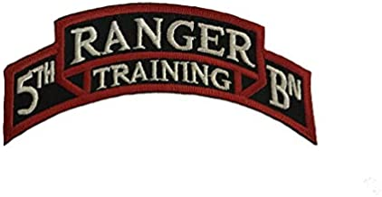 Army 75th Ranger Dress Tab Full Color Patches (5TH BATTALION TRAININ)