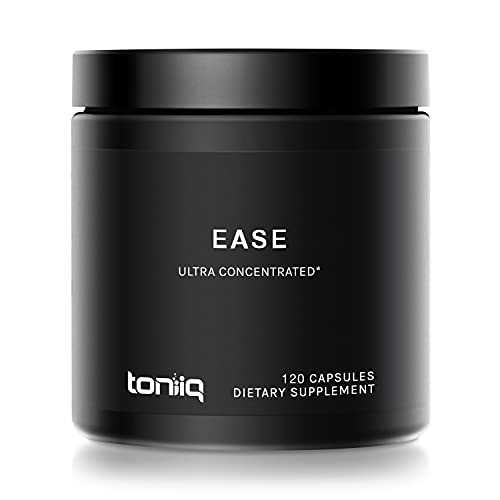 Ease by Toniiq with DHM - Full Liver Support for a Night Out - 120 Capsules - 50x Super Concentrated Extract - Morning Recovery Supplement