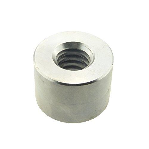 Rundmutter mit Trapezgewinde Höhe = 1,5 d Stahl blank TR 24 x 5 x D50 x L36-1 Stück