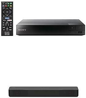 ソニー SONY ブルーレイプレーヤー/DVDプレーヤー BDP-S1500 BM + ソニー SONY サウンドバー  チャコールブラック HT-S200F B (2018年モデル)