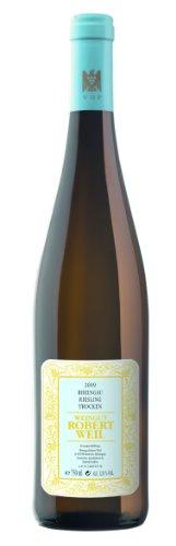 Robert Weil Riesling Qba trocken Weißwein 2012 12% 0,75l Flasche-2012
