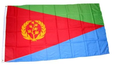Fahne / Flagge Eritrea NEU 90 x 150 cm Flaggen
