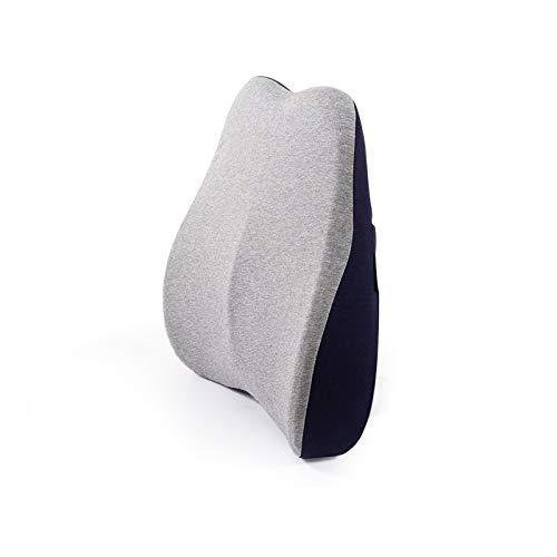Rückenkissen Memory Foam Lendenwirbelstütze Rückenpolster Ergonomisches Rücken-Kissen Memory Foam Lendenkissen, Stützkissen Für Bürostuhl Auto Sofa
