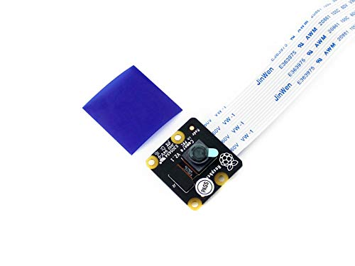 Waveshare Raspberry Pi NoIR Camera V2 Official Raspberry Pi Camera Module Kit 8mp IMX219 Sensor 1080p30 Supports Night Vision 1080p Webcam Video Record for all revisions of the Raspberry Pi