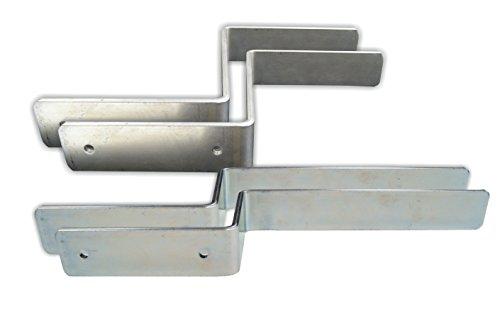 Connex DY250830 Halterungsset für Festzeltgarnitur 4-teilig inkl. Befestigungsmaterial