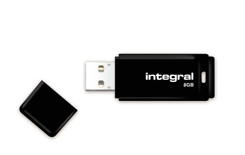 Integral - Clé 8 Go USB 2.0 Noir