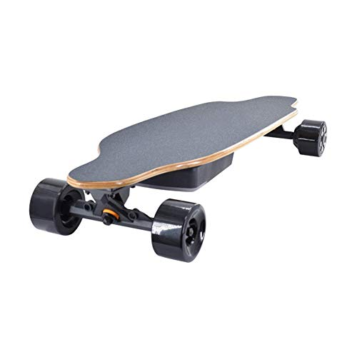 Elektrisch Skateboard Gemotoriseerde Skateboard 35 KM/H Top Speed, 600W Motor, 8 Lagen Maple Longboard met draadloze afstandsbediening Christmas Birthday for Volwassenenonderwijs Kids Teens zhihao