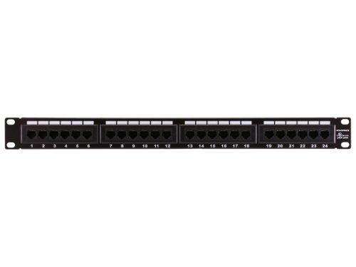 Monoprice 107252 110 Type 12-Port Cat6 Patch Panel (568A/B Compatible)