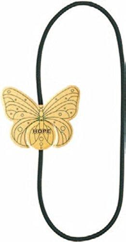 Artisan Bookmarks - Schmetterling / Hope: Kunstvolles Leseband mit Magnetschließe