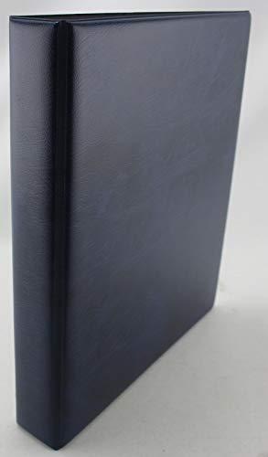 Muntengalerij Klassiek Album voor Vario Pagina's Bankbiljetten Postzegels Opslag Systeem 3 Ring Binder Slipcase Album Only Blauw