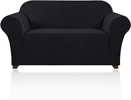 VINGO Elastischer Antirutsch Sofahusse 183-229cm, Stretch Spandex Couchbezug 3 Sitzer, Elastischer Sofabezug, 85% Polyesterfaser 15% Elasthan, in Verschiedene Größe und Farbe Sofabezug