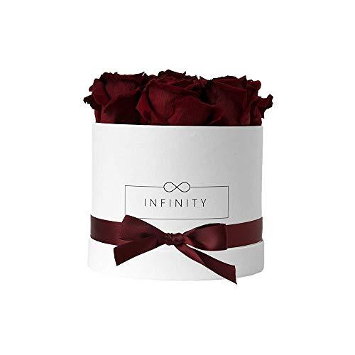 Infinity Flowerbox 2-BW-BG cadeau, Bourgogne