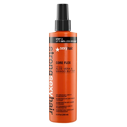 SexyHair Strong Core Flex Anti-Breakage Leave-In Reconstructor, 8.5 Fl Oz