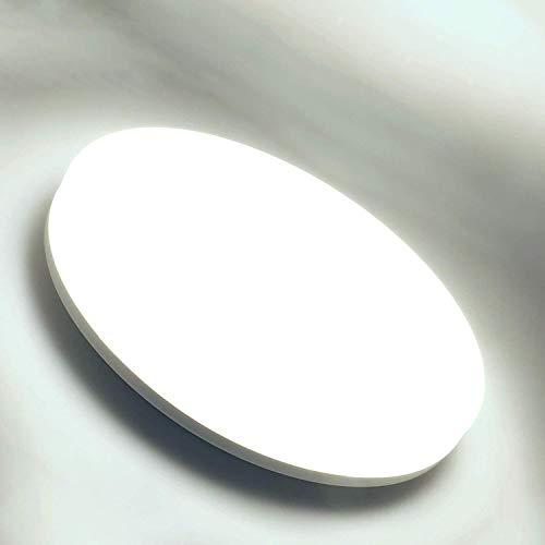 LED Lámpara de Techo Kimjo 36W, IP44 Impermeable Plafón LED Techo, φ23cm Redondo Plafón, Blanco Frío 6500K 3240LM Moderna Luz de Techo LED para Baño, Cocina, Dormitorio, Balcón, Pasillo