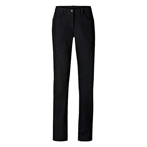 Odlo Trek Pantalon pour Femme Pantalon Long Car 44 Noir