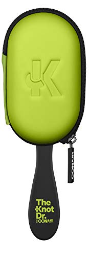 The Knot Dr For Conair The Pro with Case Green