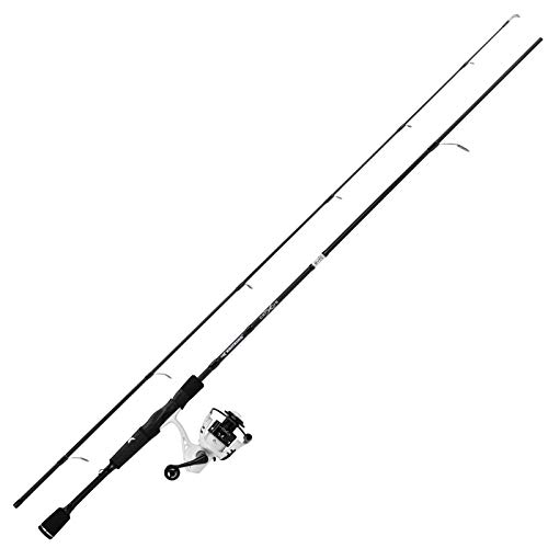 KastKing Crixus Fishing Rod and Reel Combo, Spinning, 7ft, Med Heavy, 2pcs, 3000 Reel
