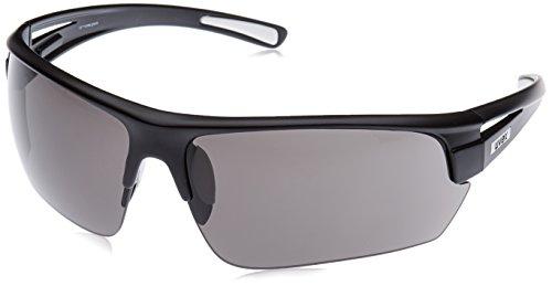 Uvex Erwachsene Sportsonnenbrille Gravic Sportbrille, Black Mat, one size