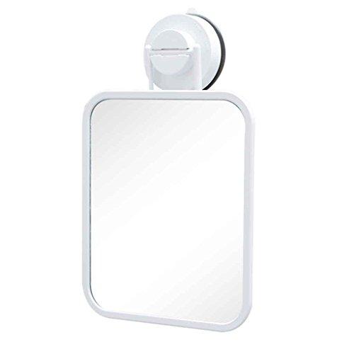 Mirror Makeup Mirror Espejo de baño de Pared Espejo de baño sin Orificio Dormitorio Vestuario Puerta detrás Espejo pequeño Espejo Transparente, sin instalación de Rastro, Impermeable y Resistente a l
