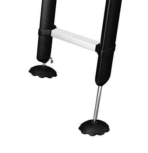 Telesteps Classico-serie, ladder, zilver 9190-101 Prime Safety Feet zwart