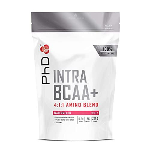 PhD Nutrition Intra BCAA, Watermelon, 450 g