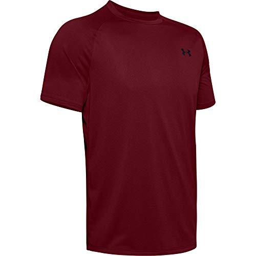 Under Armour Men's Tech 2.0 Novelty Short-Sleeve T-Shirt, Cordova (615)/Black, Large