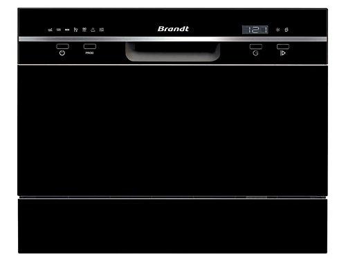 Brandt DFC6519B Lave Vaisselle couverts6 place_settings 49 decibels Classe: 618248 Noir