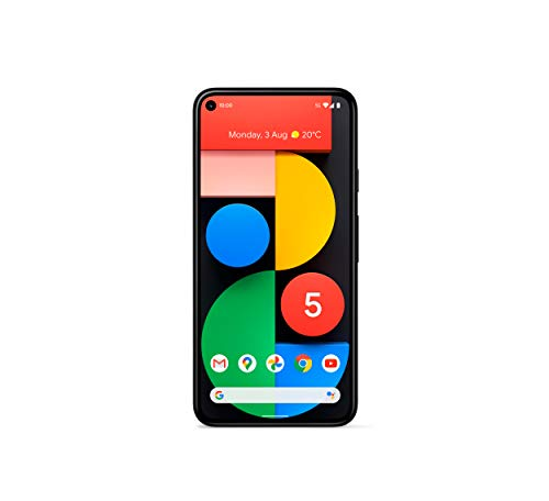 Google Pixel 5 5G (2020) GTT9Q 128GB Factory Unlocked SIMFree Smartphone (Just Black) - International Version