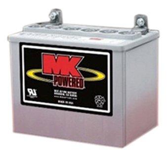 U-1 Sealed Gel Battery Set (Pair) | Maintenance-Free, 12 volt 32 Ah Sealed Gel Battery, 1100 cycles | by MK Battery